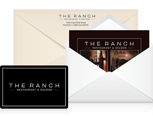 Gift Cards Restaurant The Ranch