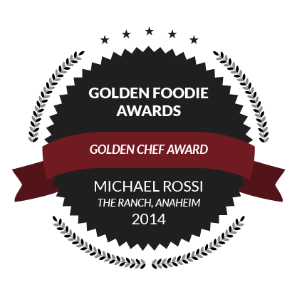 Golden Foodie Awards, Golden Chef Award, Michael Rossi, 2014