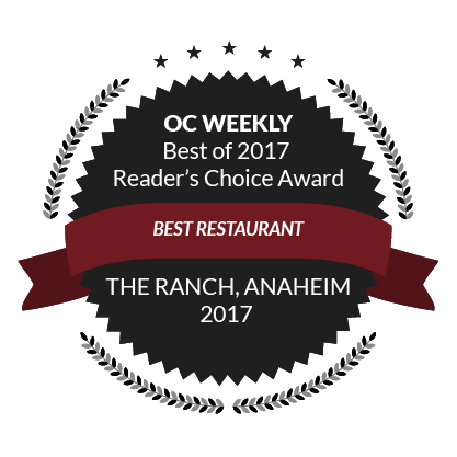OC Weekly Best of 2017 Reader's Choice Award, Best Restaurant, 2017