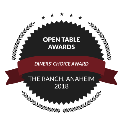 Open Table Awards, Diners' Choice Awards, 2018