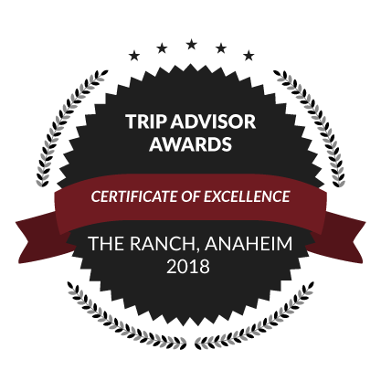 Trip Advisor Awards, Certificate of Excellence, 2018