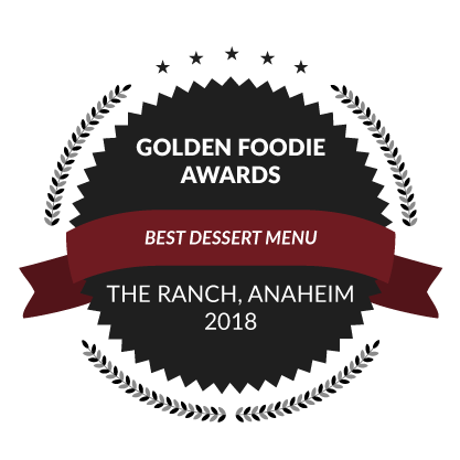 Golden Foodie Awards, Best Dessert Menu, 2018