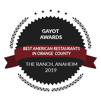 Award from ABC 7 Eyewitness News, Anaheim's Top 5 Upscale Steakhouses, 2018