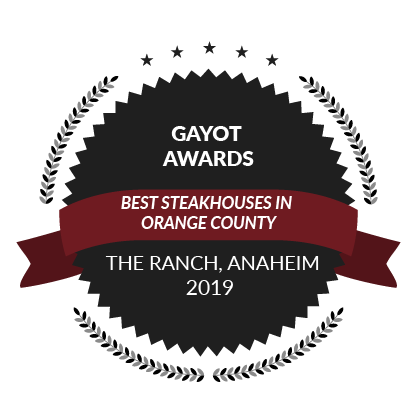 Gayot Awards, Best Steakhouses in Orange County, 2019