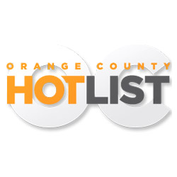 Orange County Hot List logo with link to their article about The RANCH Saloon being voted the #1 Best Dance Club.